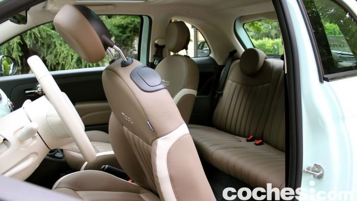 prueba Fiat 500 2015 interior 7