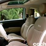 prueba Fiat 500 2015 interior 8