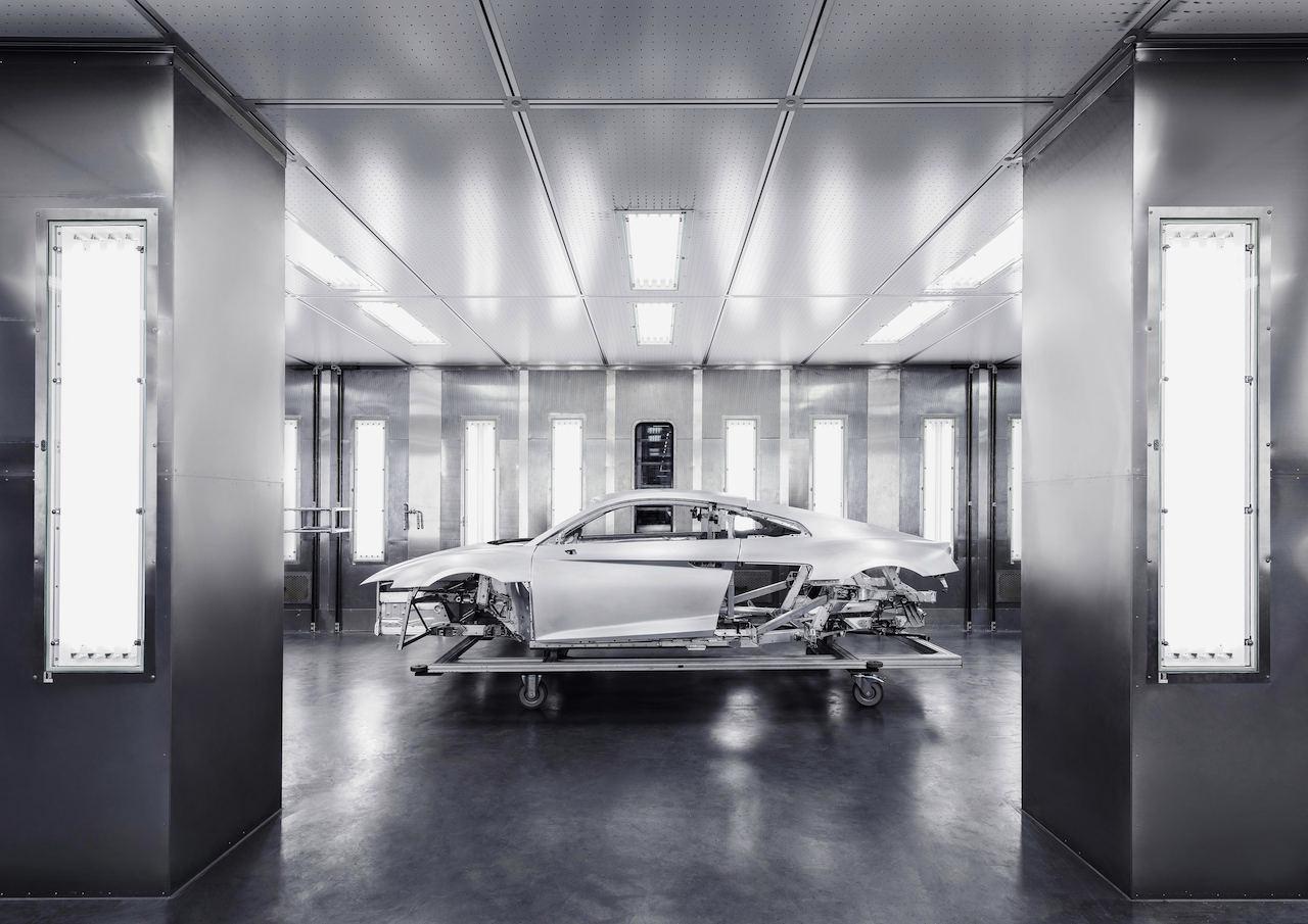 Audi R8 2015 fabricacion