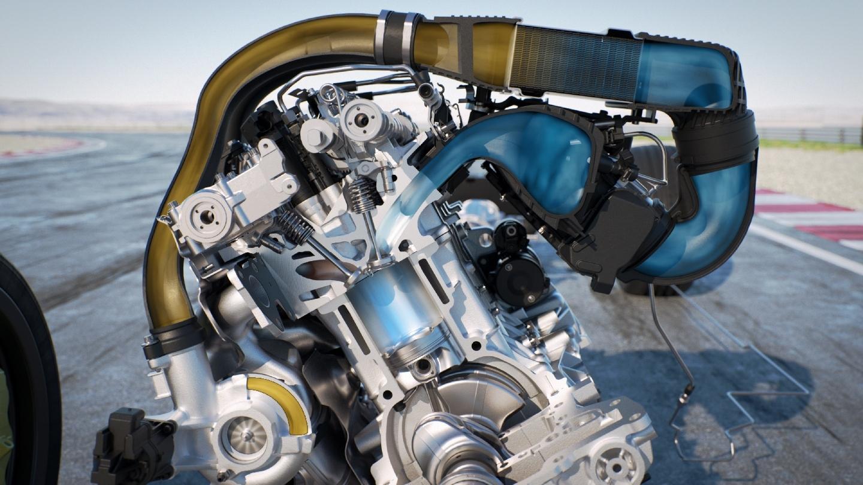 BMW M motor inyección agua
