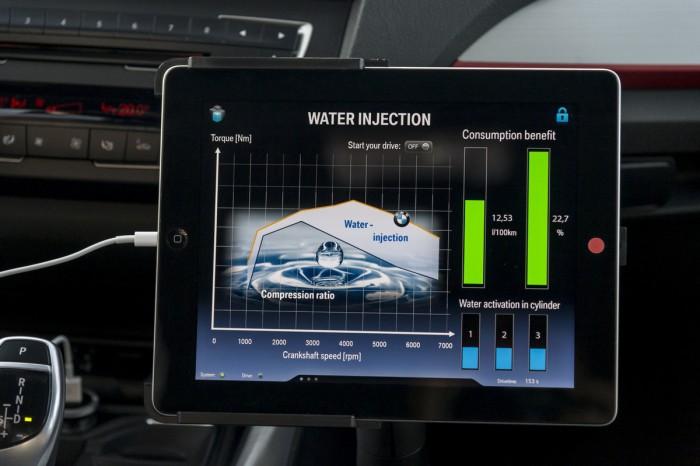 BMW Serie 1 inyección agua 06