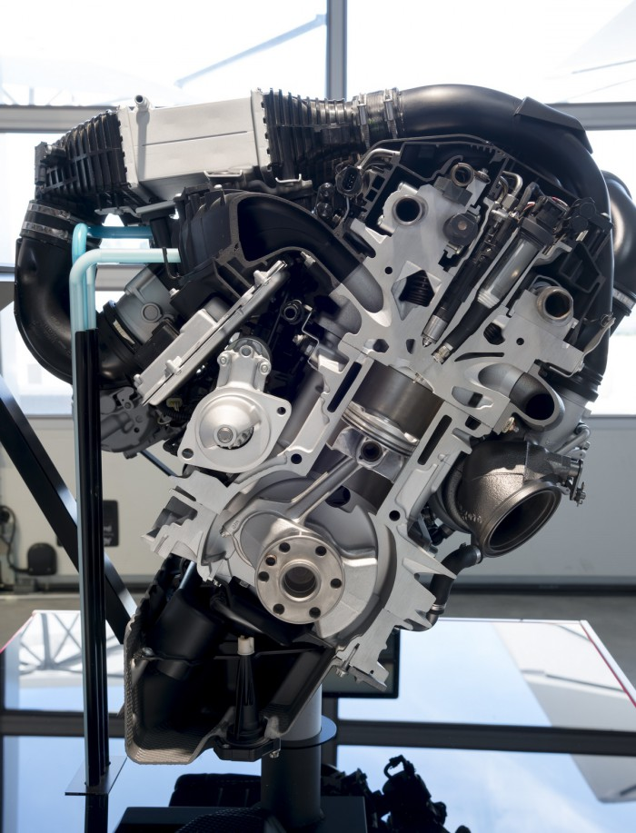 BMW Serie 1 inyección agua 13