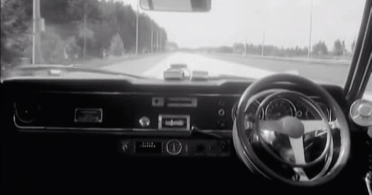 Early Driverless Car 1971
