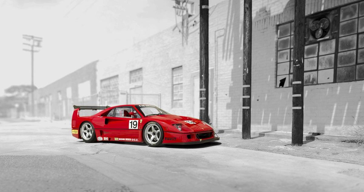 Ferrari F40 LM 1993 08
