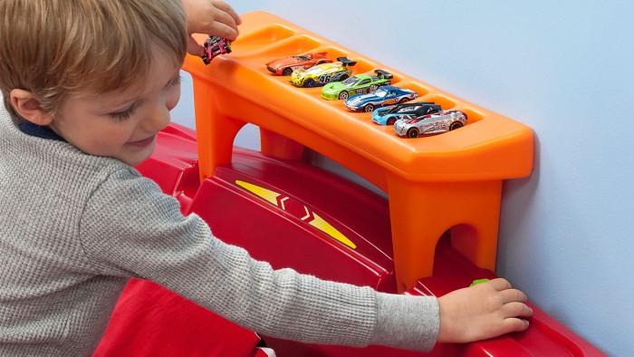 Hot Wheels Race Car Bed 03