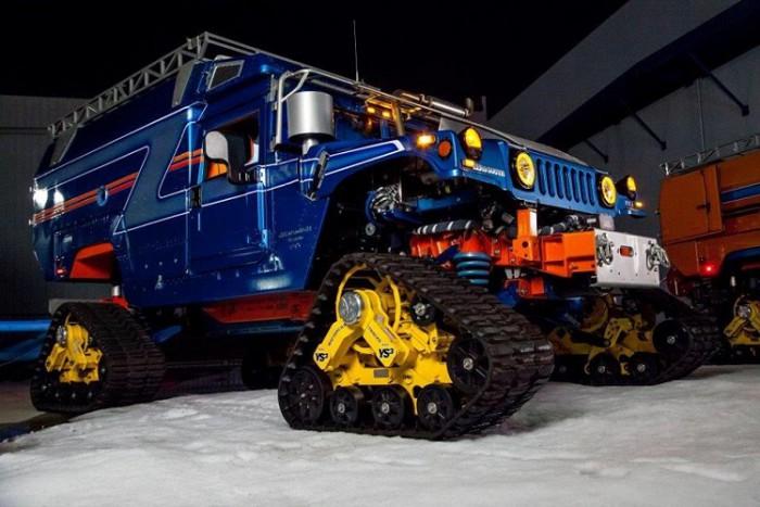 Hummer Antártida 08