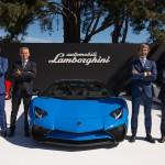 Lamborghini Aventador LP 750-4 Superveloce Roadster 2015 presentación