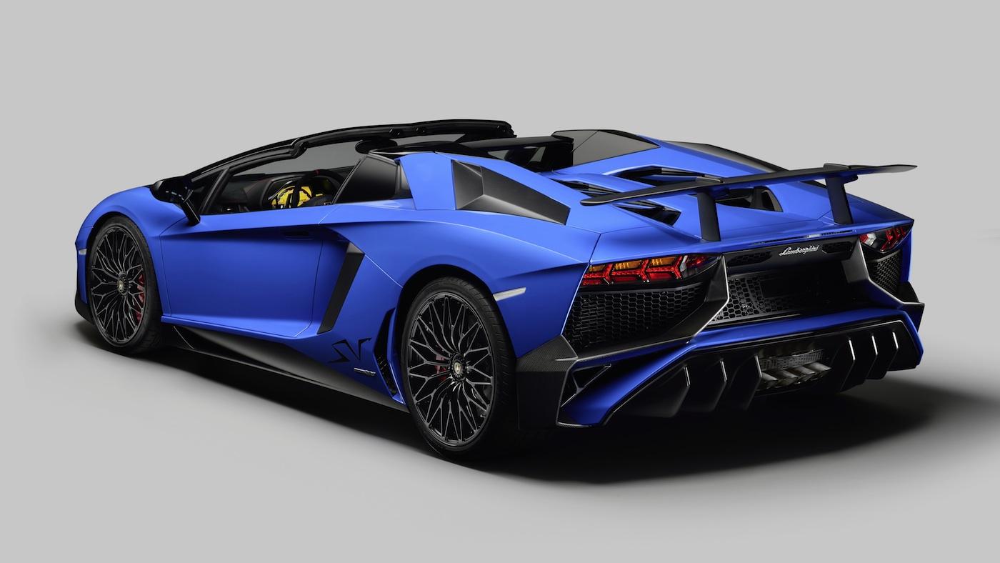 Lamborghini Aventador Lp 750 4 Superveloce Roadster