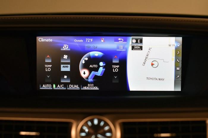 Lexus GS 2016 interior 04