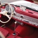 Mercedes-Benz 300 SL Alloy Gullwing interior 01