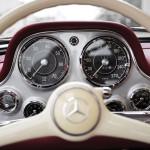 Mercedes-Benz 300 SL Alloy Gullwing interior 07