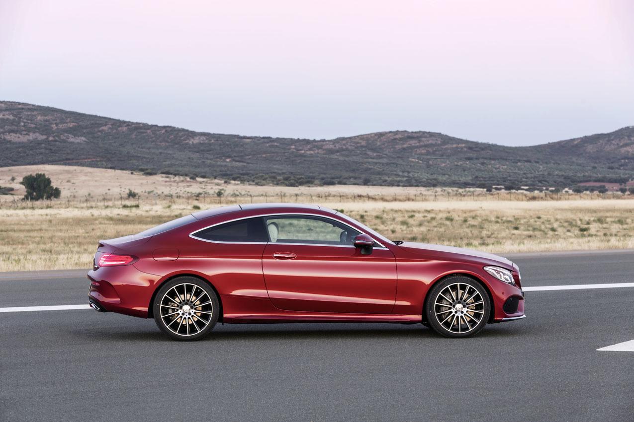 Mercedes Clase C Coup 2016 El Guapo De La Familia
