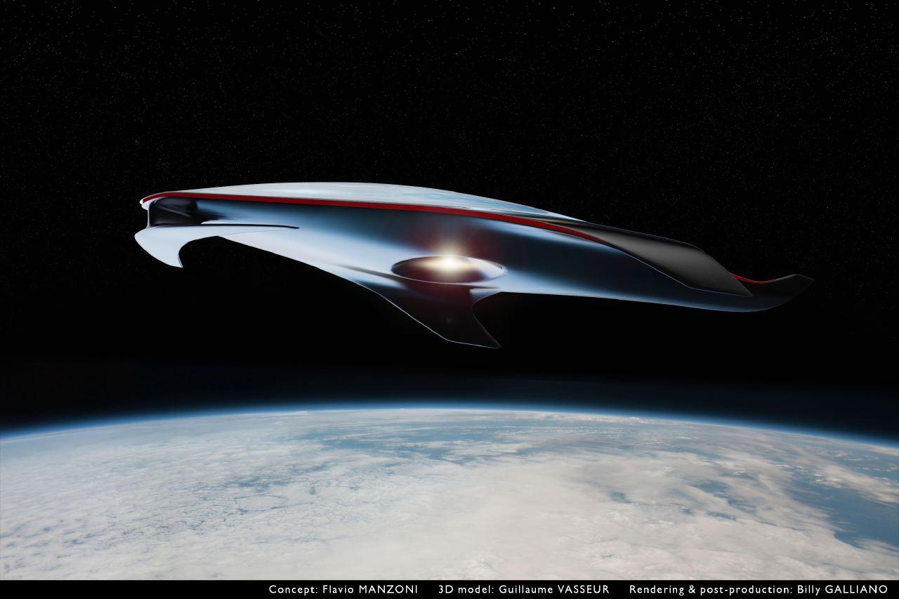 Nave-espacial-Ferrari