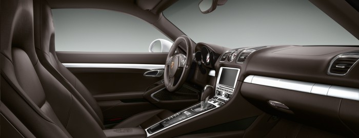 Porsche Exclusive Cayman S 2015 interior 01