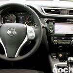Prueba Nissan Qashqai DIG-T 163 CV 2015 interior 03