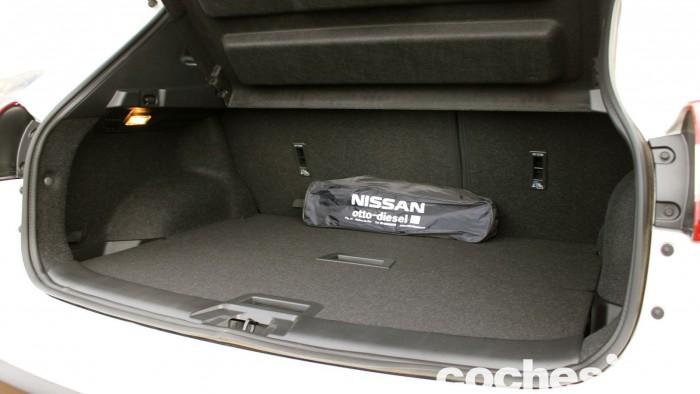 Prueba Nissan Qashqai DIG-T 163 CV 2015 maletero 01