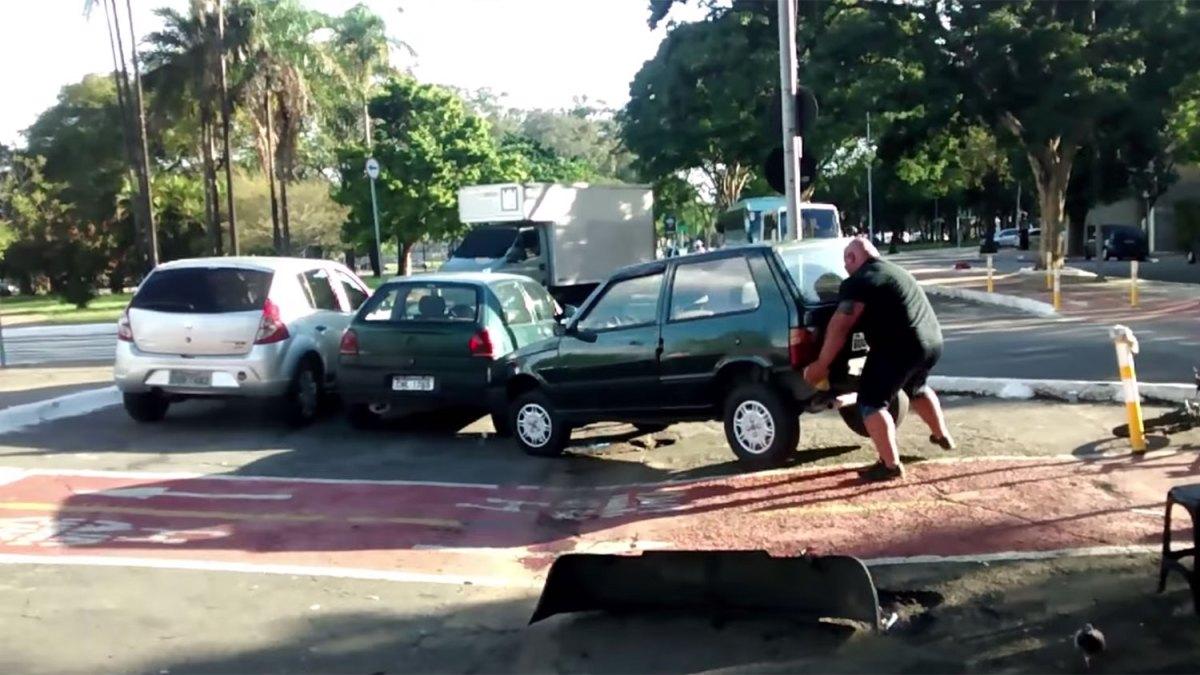aparcar carril bici