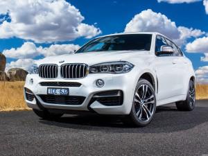 BMW X6 M50d F16 Australia 2015