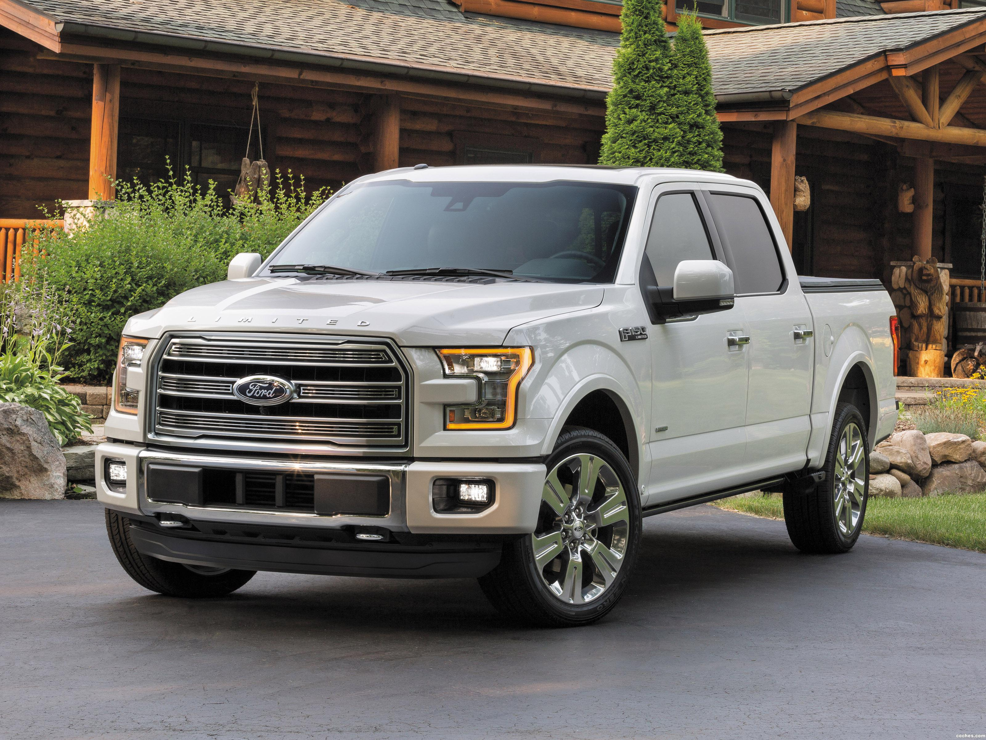 fotos de ford f 150 limited supercrew 2015. Black Bedroom Furniture Sets. Home Design Ideas