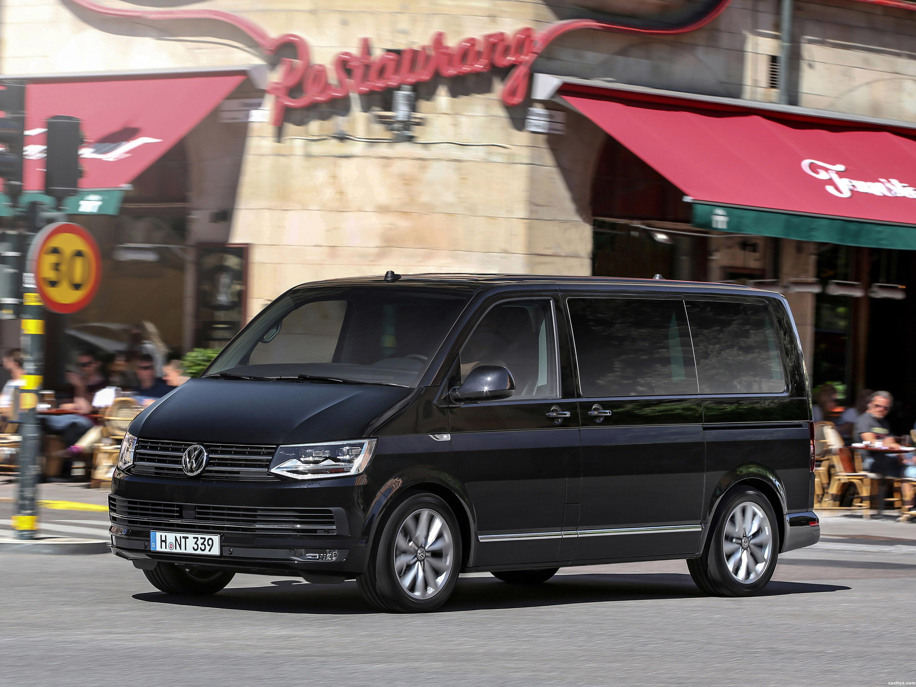 fotos de volkswagen multivan business t6 2015. Black Bedroom Furniture Sets. Home Design Ideas
