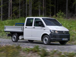 Volkswagen Transporter Double Cab Pickup T6 2015