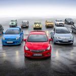 11 generaciones de compactos Opel