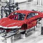 Audi R8 2015 fabricacion 1