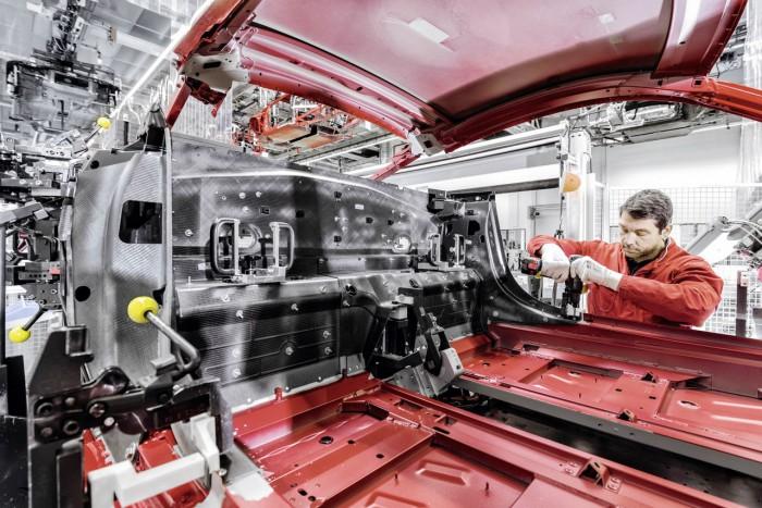 Audi R8 2015 fabricacion 2