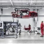 R8 production at Audi Böllinger Höfe near the Neckarsulm site
