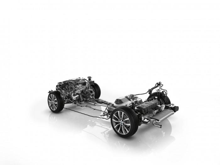 BMW 225xe 2016 chasis y motor 2