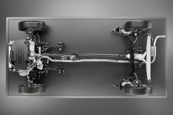 BMW xDrive motor transversal
