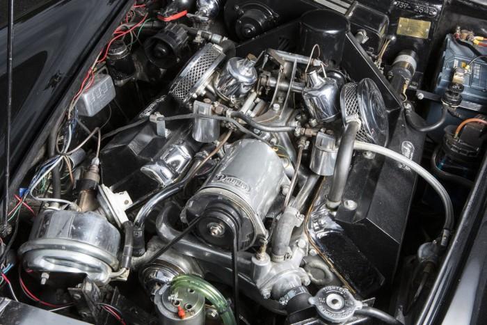 Daimler SP250 Police Specification Roadster 1965 motor 01
