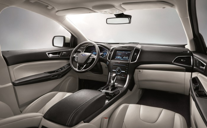 Ford Edge 2016 interior 01