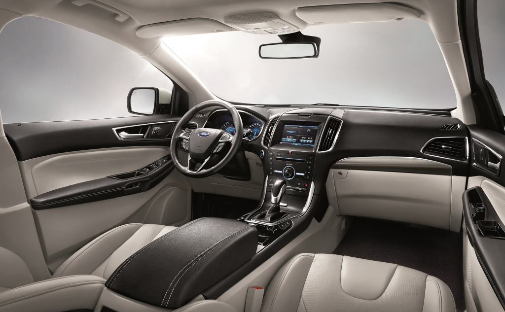 ford edge 2016  as u00ed es el suv grande de la marca