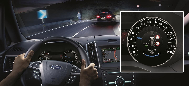 Ford S-Max 2015 intelligent speed limiter 01