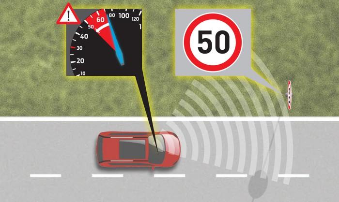 Ford S-Max 2015 intelligent speed limiter 03