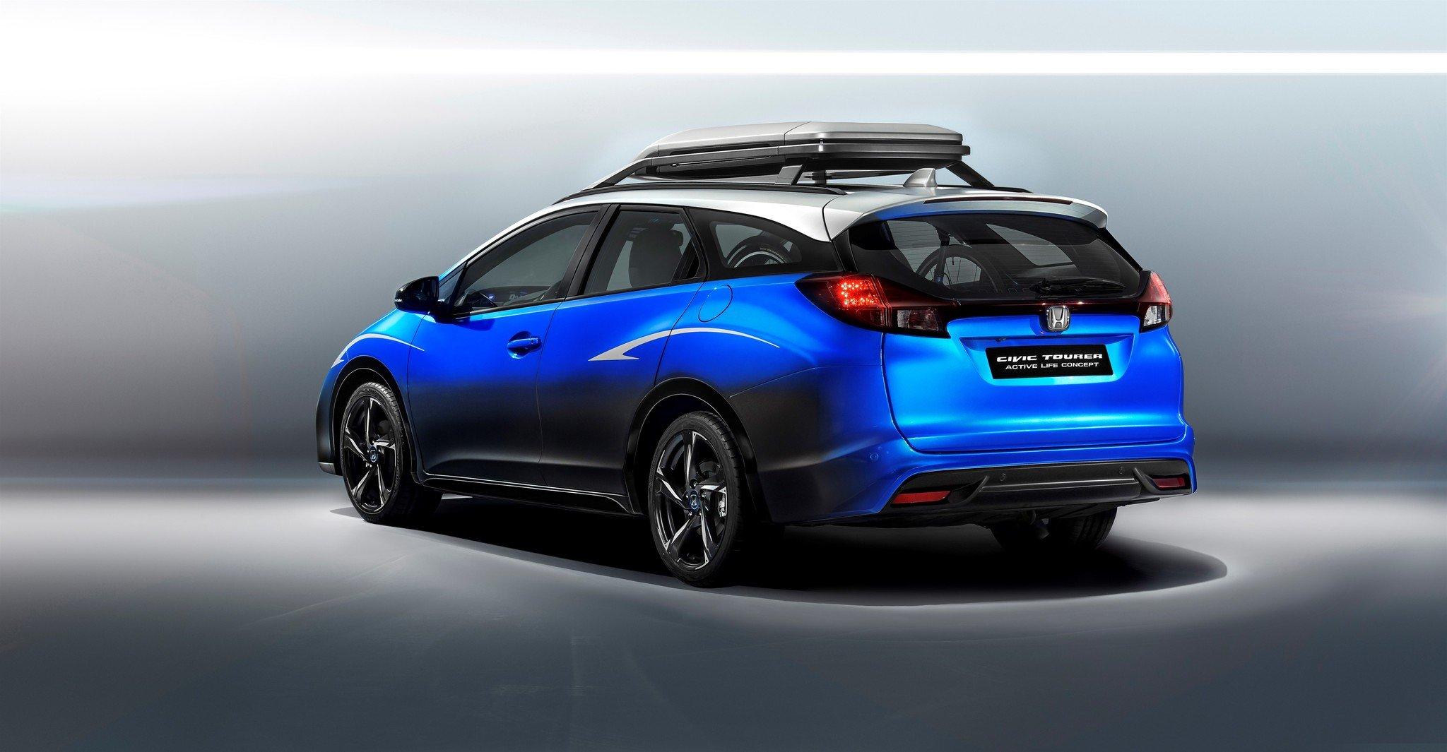 Honda Civic Tourer Active Life Concept 2015 02