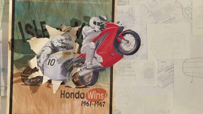 Honda paper video