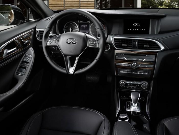 Infiniti Q30 2016 interior 1
