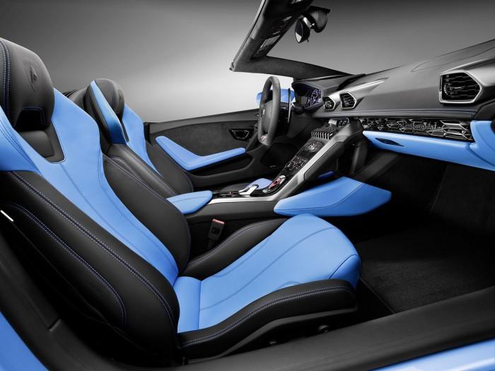 Lamborghini Huracán LP 610-4 Spyder 2015 interior 01