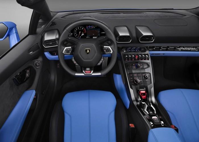 Lamborghini Huracán LP 610-4 Spyder 2016 interior 02