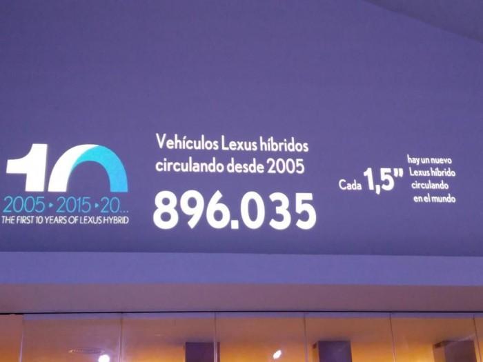 Lexus 10 aniversario hibridos
