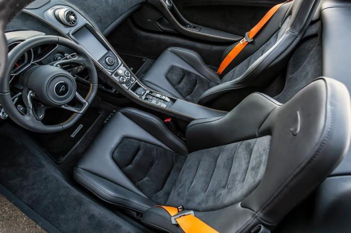 McLaren 650S Spider Nürburgring 24H Edition 2015 interior 01