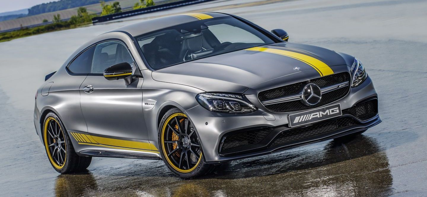 Mercedes AMG C63 Coupe Edition 1 2015 07