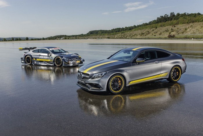 Mercedes AMG C63 Coupe Edition 1 2015 11