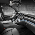 Mercedes Clase V AMG Line 2016 interior 01