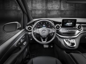 Mercedes Clase V AMG Line 2016 interior 03