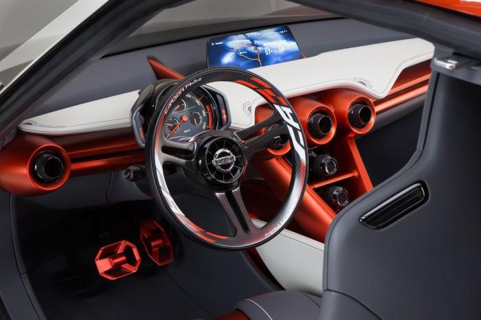 Nissan Gripz Concept 2015 interior 14