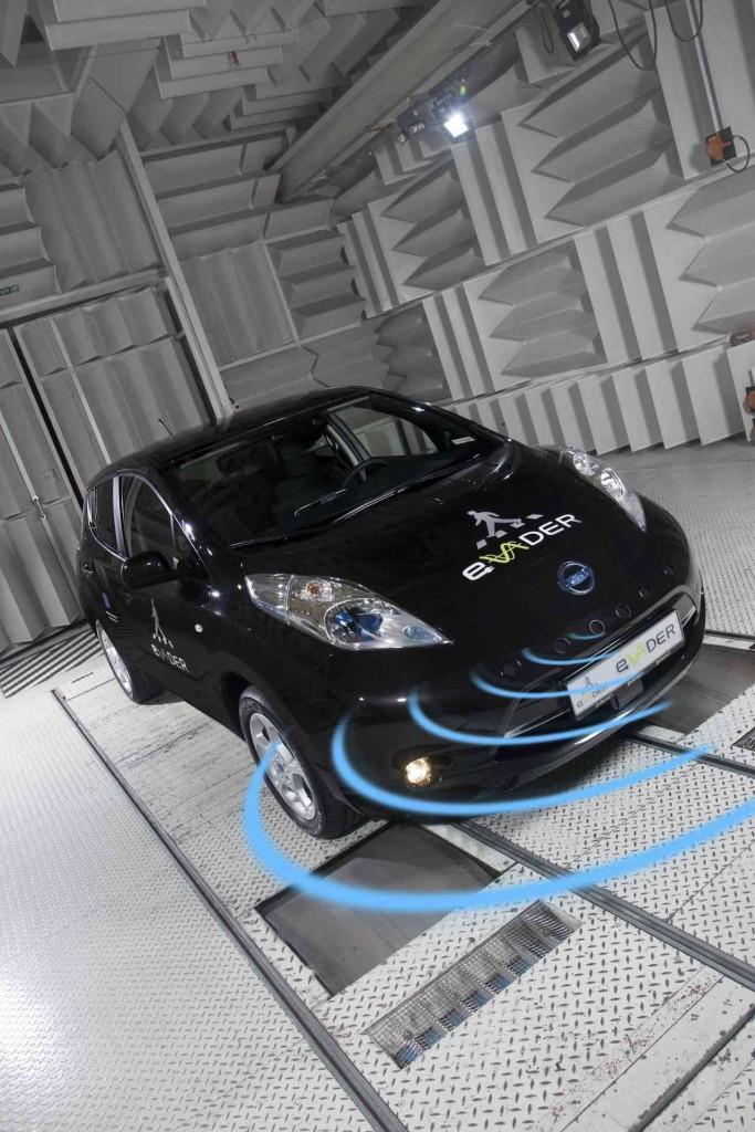 Nissan Leaf EVADER proyect