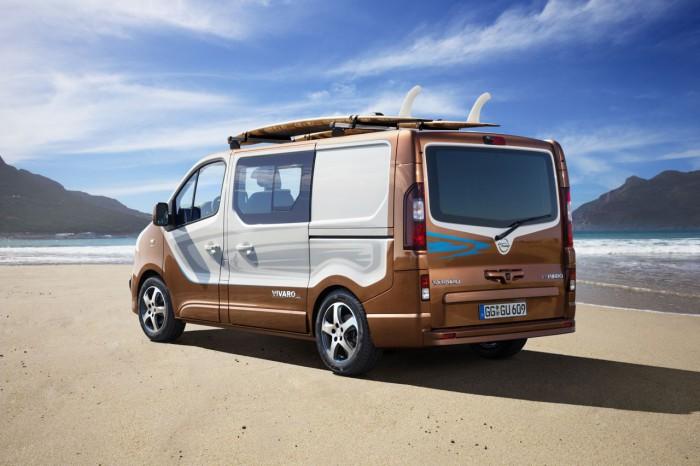 Opel Vivaro Surf Concept 2015 1